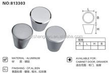 low MOQ round aluminum cabinet knob