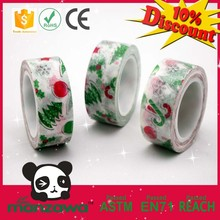 2015 Hot sale Christmas decoration tape for christmas ornament