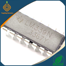 Quad Voltage Comparators LM339N for Industrial, Commercial and Military Applications