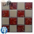 Hy14-1032 2014 classe aaa metálico vidros simples malha colorida design telha cerâmica do assoalho