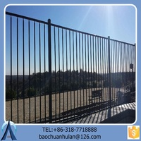 Good-quality Safety Fence Wholesale/Salable Iron Fence For Home/High-grade Steel Fence