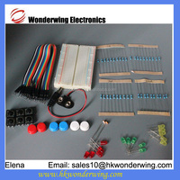 Common Component package element kit breadboard led jumper cable kit for Arduino