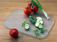 Hot selling tempered glass chopping /cutting board