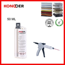 Top quality OEM Artificial Quartz Stone Adhesive Joint Glue for countertops,8 years no yellow