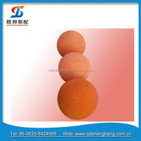 Durable Schwing soft concrete pump cleaning sponge ball