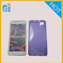 Free Samples Tpu Soft Silicon Gel S Line Case For Bq Aquaris M5 Funda