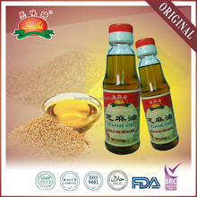 150ml glass bottle natural sesame oil