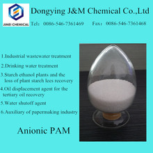 High purity anionic polyacrylamide pam