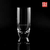 Sodalime leadfree glass popular high quality drinking water glass set