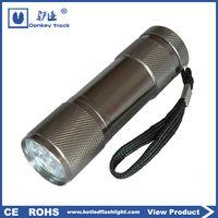 M03S Best-selling mini aluminum 9 led flashlight torch