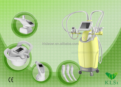 four fast handpieces and six treatment heads for whole body treatments/multifunctional beauty machine