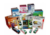 Home appliance paper packing box of different types