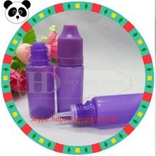 China manufacturer pe e-cigarette bottle flavored smoke oil dropper bottles childproof pe e liquid bottle
