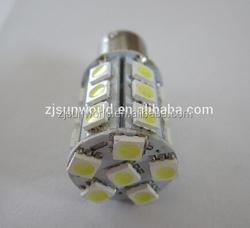 China manufacture 12V automitive 5050 SMD BA15S auto light