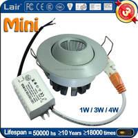 AC85-265V 120lm/W CRI Ra>80 led light mini 3W luces led