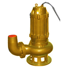 cast iron Sewage contamination of submersible waste pumps