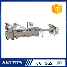 High quality cream/jam/chocolate biscuit sandwiching production line with packing machine