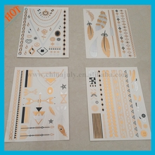 Stock Metallic Tattoo Supply From China, Tatoo Stickers, Flash Tattoo