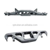 railway wagon side frame and bolster/railway flatwagon/bogie; bogie spare part