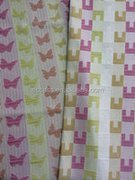 100%polyester material jacquard butterfly pattern upholstery fabric