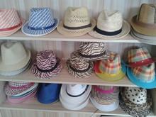 2015 Fashion design lady' fedora hats/paper straw panama hat