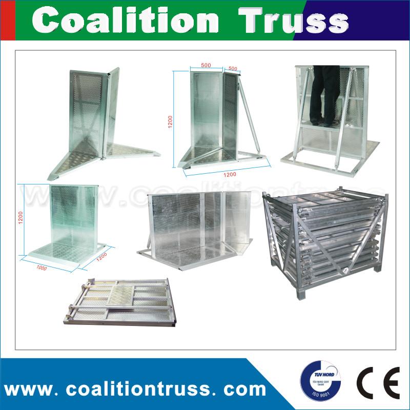 Fournisseur en aluminium concert foule contr le sur la for Fournisseur materiel restauration rapide