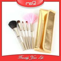 MSQ 5pcs Elegant Acrylic Cosmetic Brush Display