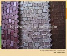Classic Golden Bag Sofa Semi PU/PVC Leather