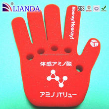 Factory wholesale fan hand scrolling banner,banner for promotional,pu foam finger