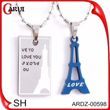 hot new products for 2015 mother daughter necklace hip hop necklace pendant wholesale charms
