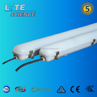 IK 08& glow-wire test report led tri-proof light ip65 led fixture for tube 1500mm 1200mm 600mm