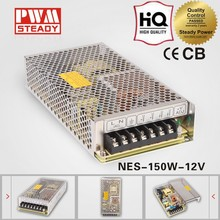 NES-150-12 CE approved 150w12v12.5a high performance switching power supply( NES series meanwell power supply )