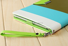 Hot selling colorful leather tablet case,for ipad air tablet cover accessories wholesale