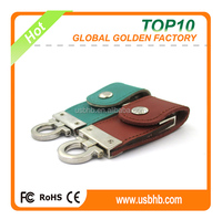 2016 business promotions colorful leather usb flash drive 8GB, business usb flash drive 8GB