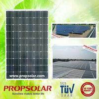 Propsolar solar panel module pieces price list TUV standard