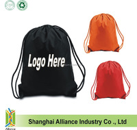 Promotion Sling Cinch Tote Bag Backpack/ Nylon Drawstring Knapsack