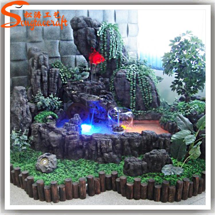 2015 made in china artificielle rochers cascade en fiber de verre rock pour jardin d coration. Black Bedroom Furniture Sets. Home Design Ideas