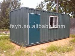 house container module with plant container homes