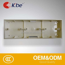 China factory price Plastic switch boxes,,surface electrical box