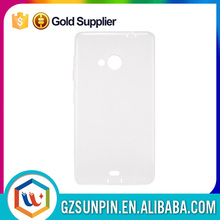 Thin slim soft jelly tpu back cover case for nokia lumia 535