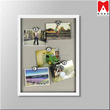Contemporary wall art Two Side Shabby picture frame wholesale clips Diy Family Nudism Photo Frame Mouldings