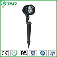 Replacement 25w tradition lamp for outdoor 3*1w led spot light garden