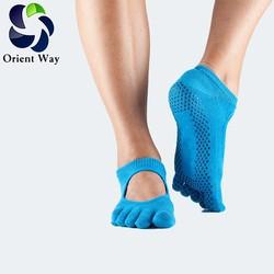 performance five toe anti slip socks