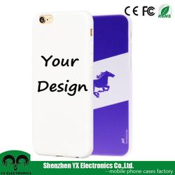 TPU customized printed phone case for iphone 6, for custom iphone case 6s