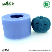 LZ0117 Pumpkin Creator Design Handmade Halloween Silicone Mould For Making Soap Candle