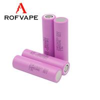 Rechargeable korean 18650 battery e cigarette 3000mah