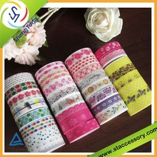 New style beautiful decoration paper tape pver 300 patterns washi tape hot selling