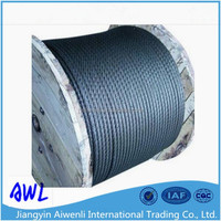8mm 6x19 galvanized steel wire rope for climbing wall and cargo net