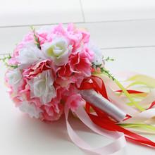new product exquisite wedding silk hydrangea bush artificial flower