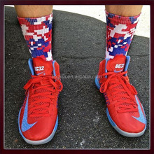 New Fashionable Socks Men High quality Breathable elite sport crew basketball sublimated socks